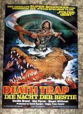 DEATH TRAP - NACHT DER BESTIE / EATEN ALIVE * A1-FILMPOSTER WA -1980 TOBE HOOPER