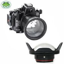 Seafrogs 40m Underwater Camera Housing for Canon EOS 5D Mark III IV w/ Dome Port