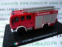 PDP72G 1/72 DEL PRADO Pompiers du Monde : LF16 IVECO Euro-Fire 140-12