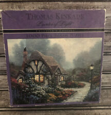Thomas Kincade 1000 Piece Puzzle Chandlers Cottage Damaged Box