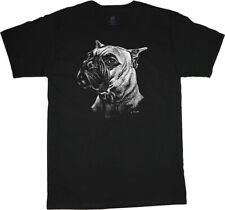 Boxer T-shirt Dog Breed Face Tee Men's Clothing Dog Person Gifts