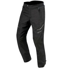 Alpinestars AST-1 Waterproof Textile Motorcycle Motorbike Touring Pants - Black