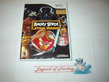 * New * Sealed * Angry Birds Star Wars for Nintendo Wii  (Works on Wii-U)
