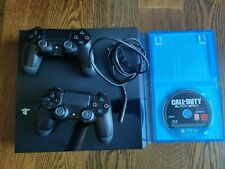 Sony Playstation 4 Spielekonsole PS4 Konsole mit 2 Controller mit Call of Duty