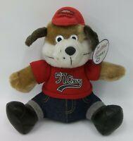 Play By Play 1957 Chevrolet Chevy Stuffed Plush Dog Doll NWT 1992
