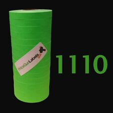 Labels for Monarch-Paxar 1110 price gun, Green 1 ink roller free shipping