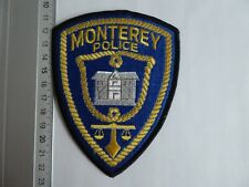 Monterey Police patch California US Polizei Abzeichen