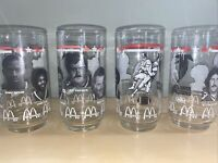 McDonald's Collector Series Glasses - Atlanta Falcons Set Of 4