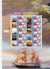 BC-289 - HMS Warrior 1860-2010 Smilers Sheet