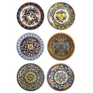 3PK Maxwell & Williams Ceramica 26.5cm Salerno Ceramic Round Dinner Plate