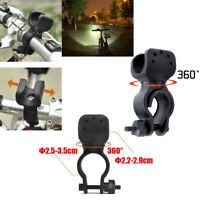 20000LM Tactical T6 LED Flashlight Zoomable AA 14500 Torch Light Bicycle Mount *