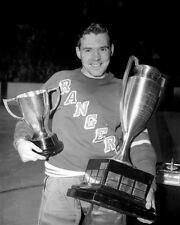 Buddy O'Connor New York Rangers 8x10 Photo