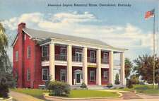 Owensboro Kentucky American Legion Memorial Home Antique Postcard K58196