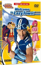 WELCOME TO LAZY TOWN NEW BBC CHILDREN'S TV 5 EPISODES SPORTACUS & ROBBIE ROTTEN