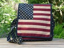 American Stars and Stripes Messenger Bag