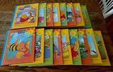 1996 Disneys Out About With Pooh Grow Learn Library Books Vol 1-16 Parent guide