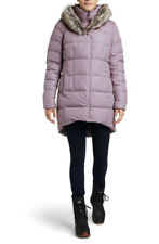 NWT Womens The North Face Fur HD Down Parkina Winter Jacket - Ashen Purple Large