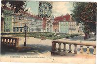38 - cpa - GRENOBLE - Le jardin de l'Hôtel de Ville