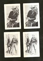 1951 MGM Movie 4 card lot GARY COOPER Its A Big Country NM-MINT CONDITION