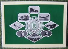 ROLLS ROYCE '75 YEARS' HISTORICAL PUBLICITY PUBLICATION 1904/1979