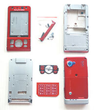 New RED Cover Housing Case+Keypad For Sony ERICSSON SE W910 W910i W910c+Tool