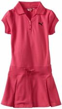 TODDLER GIRL'S PUMA KIDS CORE DRESS COLOR HOT PINK SIZE 2 T