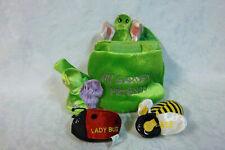 "My Garden Friends 8"" Snail Ladybug Bee Butterfly Plush Soft Toy Stuffed Animal"