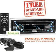 Sony MEX-XB100BT CD/WMA/MP3 Player Built-in 160 Watts RMS 4 x Ch. Amplifier New