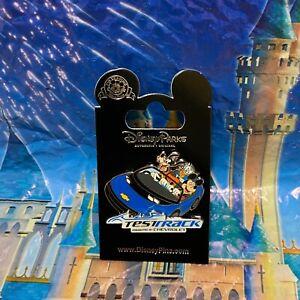 Disney Mickey Mouse Goofy Donald Test Track Pin Epcot Walt Disney World 2018