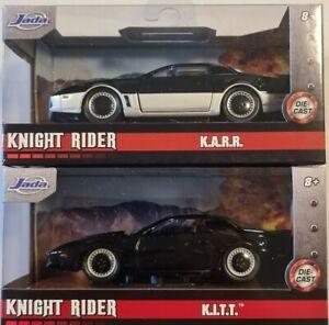 Jada 1:32 Knight Rider K.I.T.T aNd K.A.R.R Die Cast