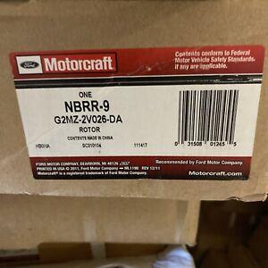 New OEM Ford F150 Rear Brake Rotor 2012-2018 Motorcraft NBRR9