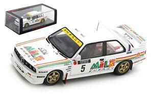 Spark S7826 BMW M3 E30 #5 Prodrive BMW 1000 Lakes 1988 - Ari Vatanen 1/43 Scale