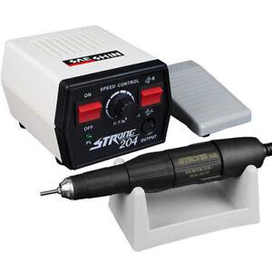 Nail Drill Machine 65w Strong 204+102L Electric Nail Apparatus Engraving Machine