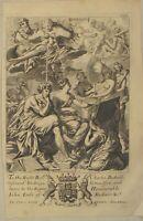 Malerei RIESEN Original BLOME Kupferstich um 1690 Kunst ZEUS Herkules Pan VENUS