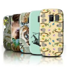 STUFF4 Phone Case/Back Cover for Nokia Asha 302 /Wild Animal Sloth