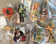 8 Hard Rock Cafe PHILADELPHIA PIN LOT Holiday PINS Cinco HW VD 4th TG HNY Earth!