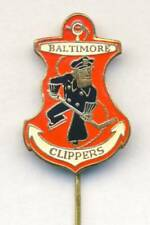 old BALTIMORE CLIPPERS Ice Hockey PIN BADGE AHL SHL