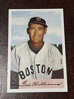 🔥ULTRA RARE ERROR🔥 1989 Bowman Baseball TED WILLIAMS SWEEPSTAKES Card, Red Sox
