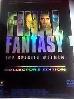 Final Fantasy the Spirits Within Collectors Edition 2 disc set dvd Like New