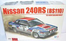 AOSHIMA BEEMAX B24008 KIT 1/24 NISSAN 240RS BS110 '83 NEW ZEALAND RALLY