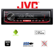 JVC KD-X262 | MP3 | USB | Android RADIO | iPhone BASS BOOST EQ Cinch Autoradio