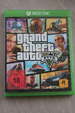 Grand Theft Auto V (Microsoft Xbox One, 2014, DVD-Box)