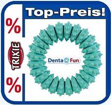 TRIXIE 33181 Ring Mintfresh Dentafun 12 Cm Naturgummi Zahnpflege