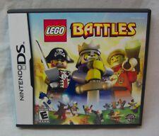LEGO Battles NINTENDO DS VIDEO GAME COMPLETE 2009