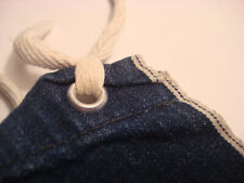 Vintage Indigo Blue Denim blue Line Selvedge WORKWEAR Shop APRON