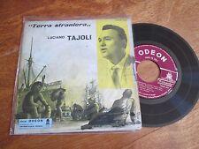"""LUCIANO TAJOLI Terra Straniera EP 7"""" ITALY ODEON"""
