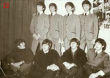 Beatles Postkarte No. 16 - b/w - Bester Zustand