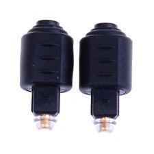 Adattatore audio ottico da 2 pin Jack femmina da 3,5 mm a maschio digitale tosBH