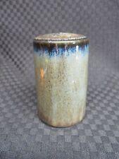 """Mikasa Potter's Craft FIRESONG HP300 Blue/Green/Brown 3"""" Salt Shaker, Japan"""