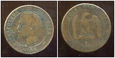 FRANCE  FRANCIA   10 centimes NAPOLEON III   1864 K